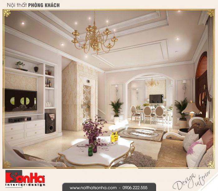 10.Mẫu nội thất phòng khách biệt thự tân cổ điển khu đô thị vinhomes imperia hải phòng