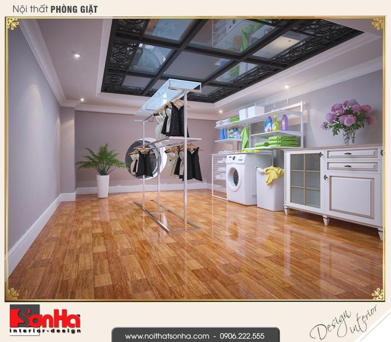 11 Mẫu nội thất phòng giặt biệt thự tân cổ điển khu đô thị vinhomes hải phòng
