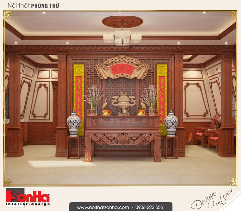 11 Mẫu nội thất phòng thờ biệt thự pháp cổ điển tại cần thơ sh btp 0120