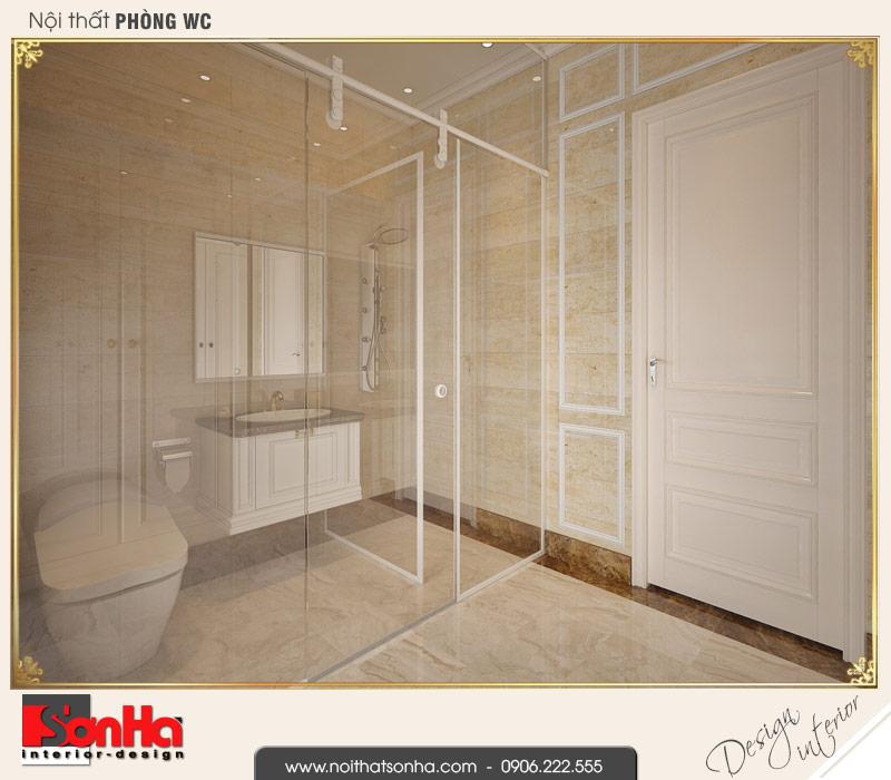 12.Mẫu nội thất phòng tắm wc biệt thự tân cổ điển khu đô thị vinhomes imperia hải phòng