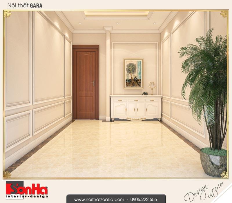 14 Thiết kế nội thất gara biệt thự tân cổ điển khu đô thị vinhomes hải phòng