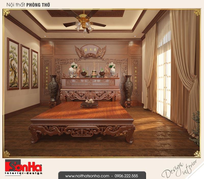 15 Mẫu nội thất phòng thờ biệt thự tân cổ điển khu đô thị vinhomes hải phòng