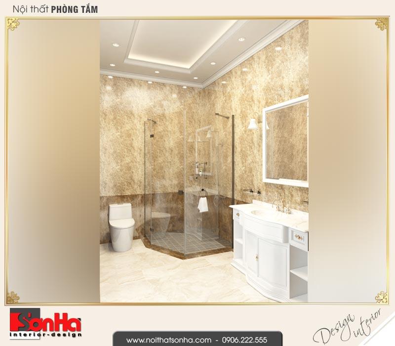 17 Mẫu nội thất phòng tắm wc biệt thự tân cổ điển khu đô thị vinhomes hải phòng