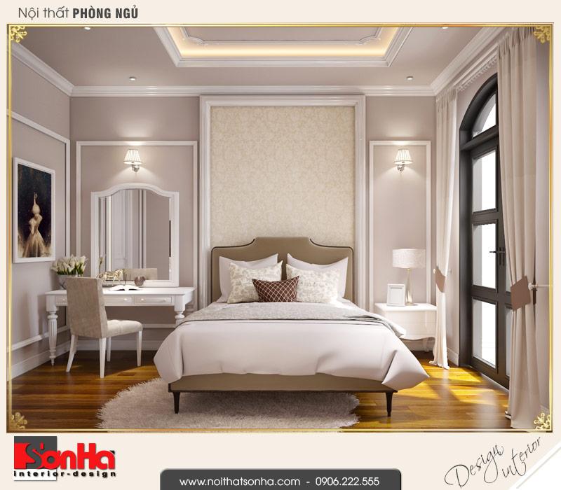 4.Mẫu nội thất phòng ngủ 3 biệt thự tân cổ điển khu đô thị vinhomes imperia hải phòng