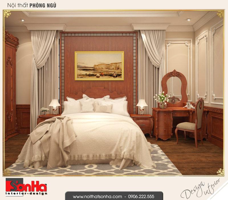 4 Thiết kế nội thất phòng ngủ 1 biệt thự pháp đẹp tại cần thơ sh btp 0120