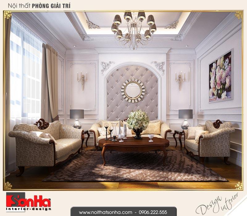 5 Mẫu nội thất phòng giải trí biệt thự tân cổ điển khu đô thị vinhomes hải phòng