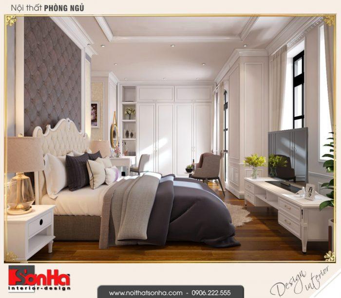 5.Thiết kế nội thất phòng ngủ vip biệt thự tân cổ điển khu đô thị vinhomes imperia hải phòng