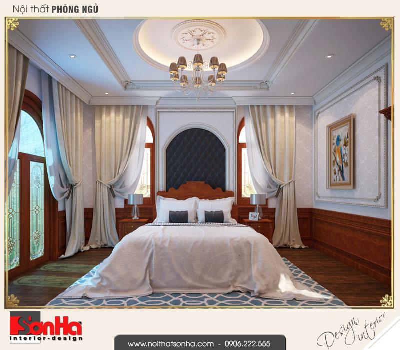 6 Thiết kế nội thất phòng ngủ 3 biệt thự pháp đẹp tại cần thơ sh btp 0120