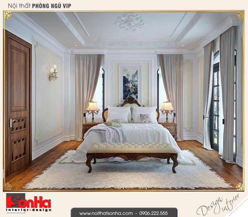 6 Thiết kế nội thất phòng ngủ vip biệt thự tân cổ điển khu đô thị vinhomes hải phòng