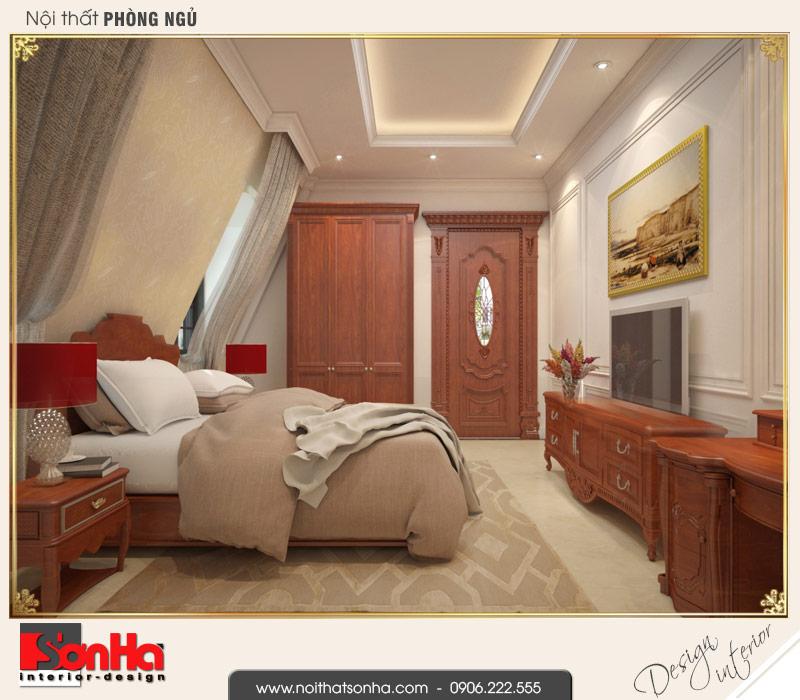 7 Mẫu nội thất phòng ngủ 4 biệt thự pháp đẹp tại cần thơ sh btp 0120