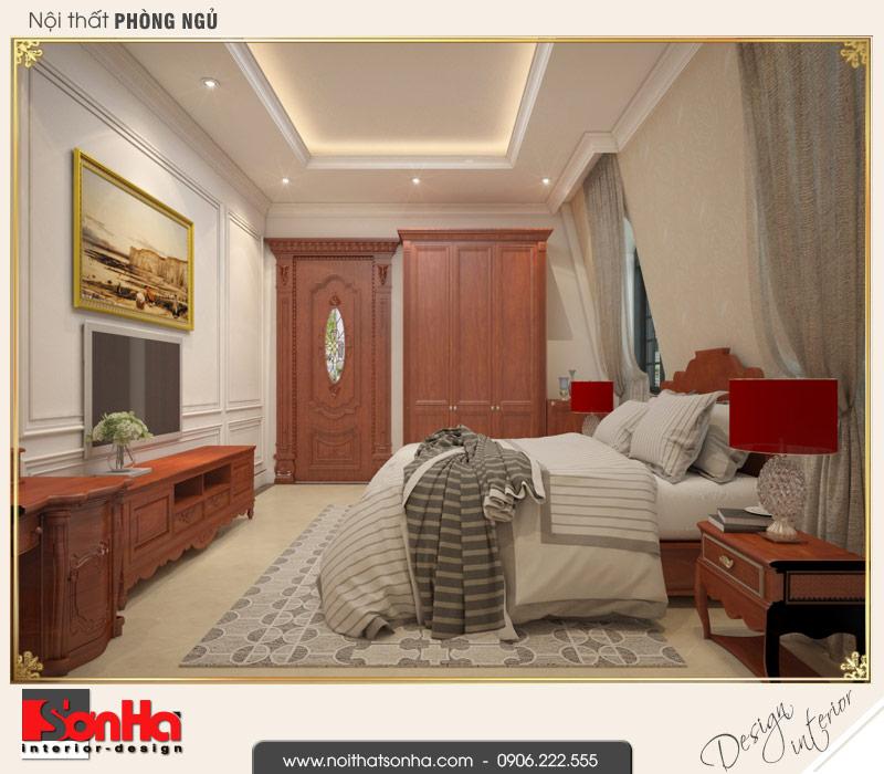 8 Thiết kế nội thất phòng ngủ 5 biệt thự pháp cổ điển tại cần thơ sh btp 0120