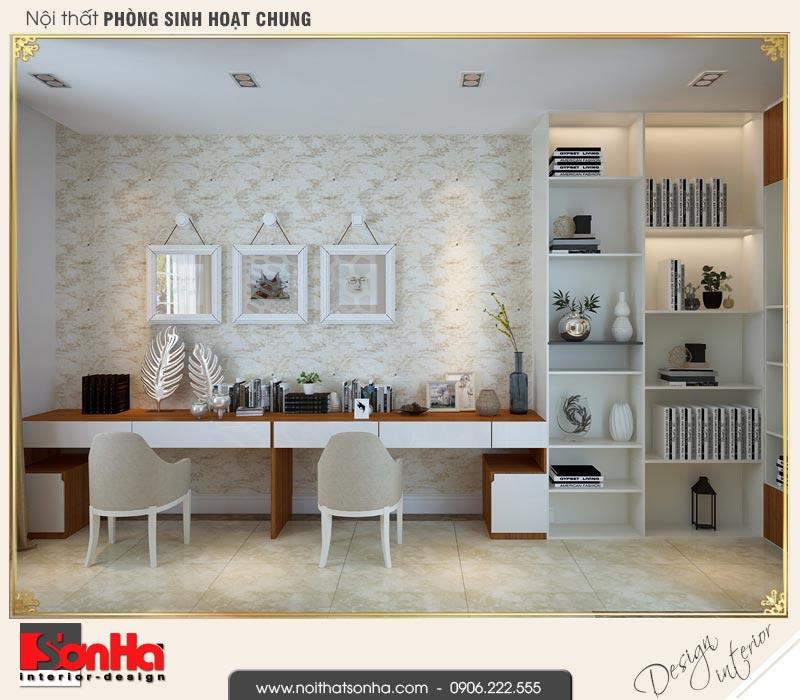 10 Thiết kế nội thất khu đọc sách nhà ống hiện đại đẹp tại quảng ninh