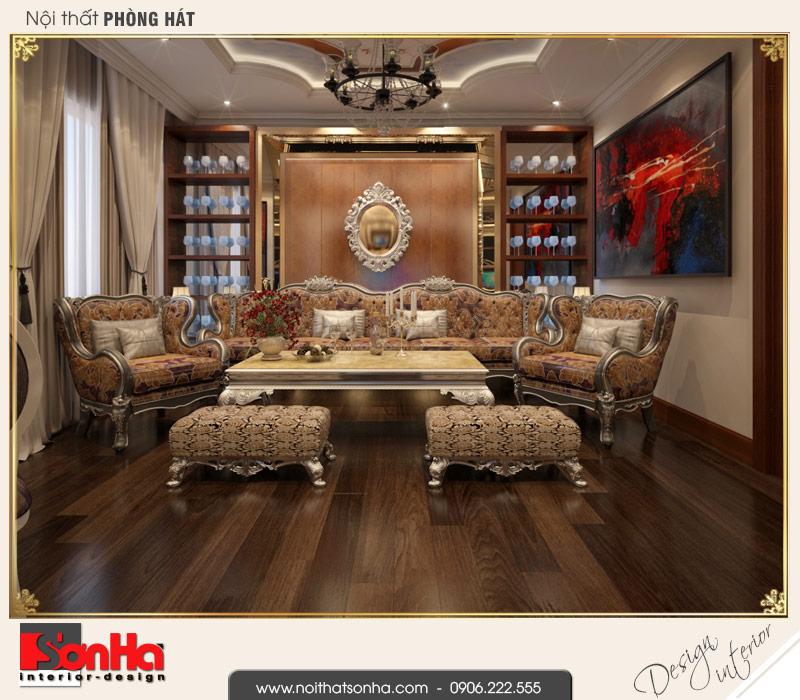 11 Thiết kế nội thất phòng hát biệt thự tân cổ điển khu đô thị vinhomes hải phòng
