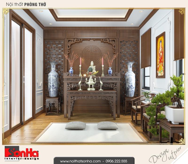 12 Mẫu nội thất phòng thờ biệt thự tân cổ điển khu đô thị vinhomes hải phòng