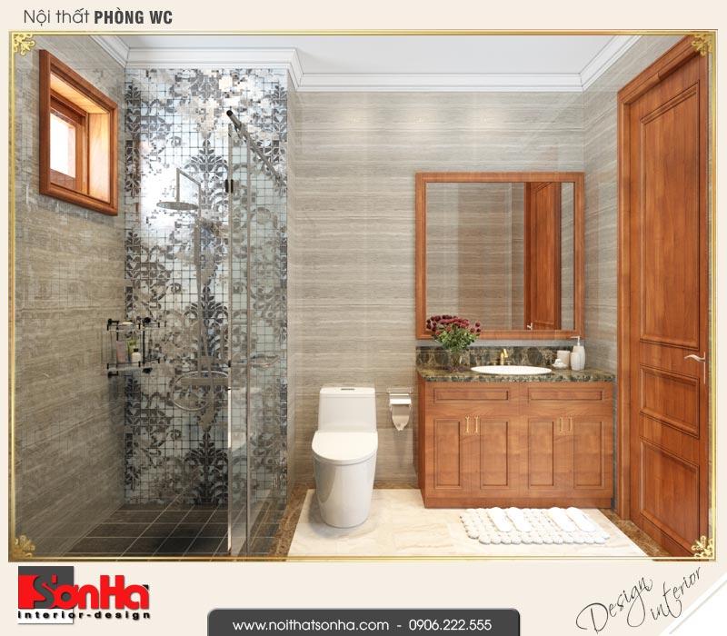 14 Thiết kế nội thất phòng tắm wc nhà ống pháp 4 tầng tại nam định sh nop 0164