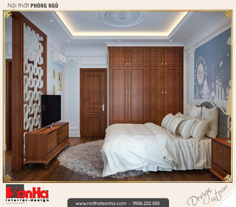 6 Mẫu nội thất phòng ngủ các con biệt thự tân cổ điển khu đô thị vinhomes hải phòng