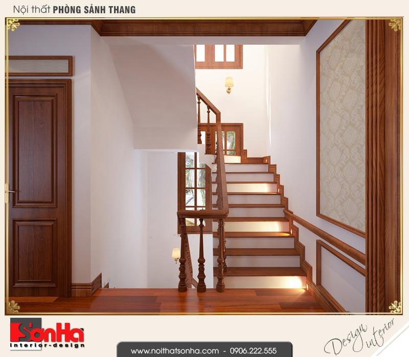 7 Mẫu nội thất sảnh thang tầng 2 nhà ống pháp đẹp tại nam định sh nop 0164