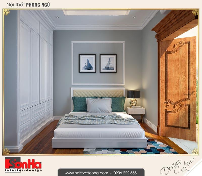 10 Mẫu nội thất phòng ngủ 4 biệt thự tân cổ điển khu đô thị vinhomes hải phòng