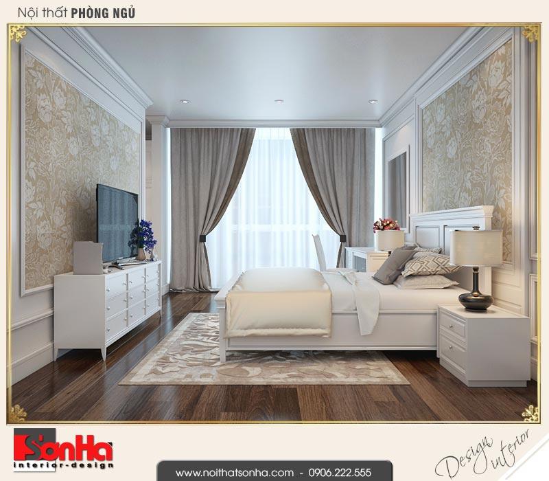 11 Thiết kế nội thất phòng ngủ 4 biệt thự liền kề khu đô thị waterfront hải phòng wfc 001