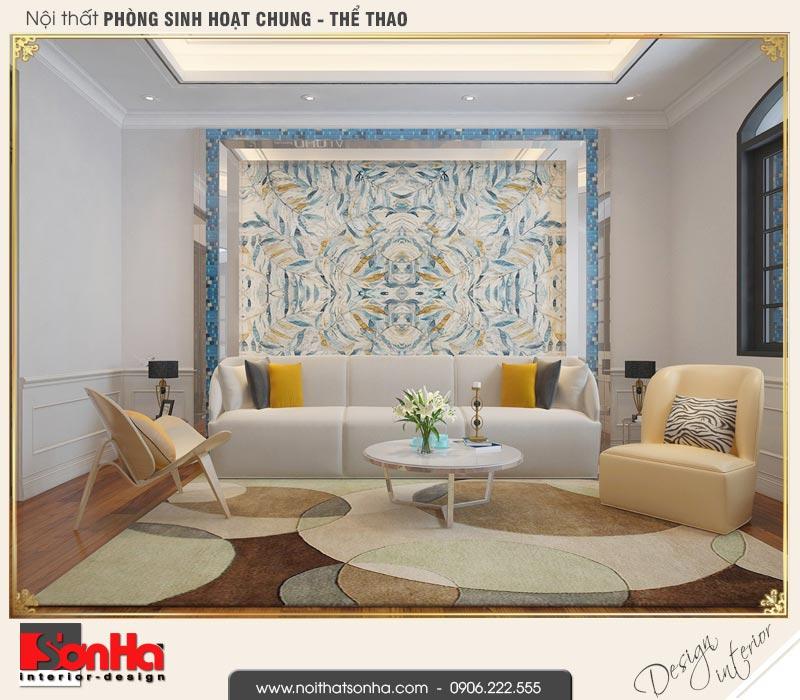 11 Thiết kế nội thất phòng sinh hoạt chung biệt thự tân cổ điển khu đô thị vinhomes hải phòng vhi 0001