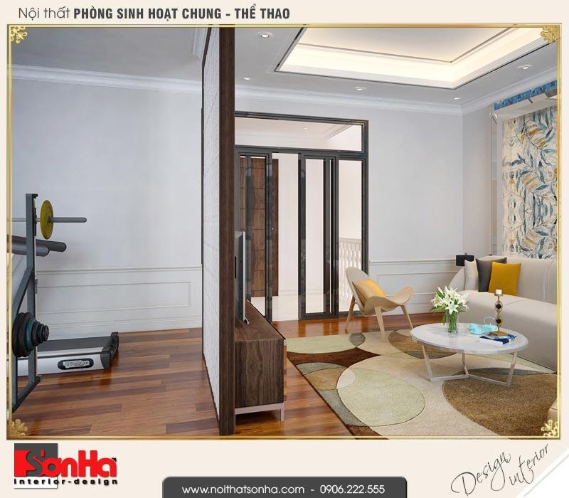 12 Mẫu nội thất phòng tập biệt thự tân cổ điển khu đô thị vinhomes hải phòng vhi 0001