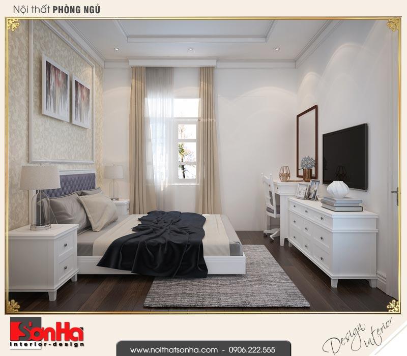 13 Thiết kế nội thất phòng ngủ 5 biệt thự liền kề khu đô thị ven sông lạch tray hải phòng wfc 001
