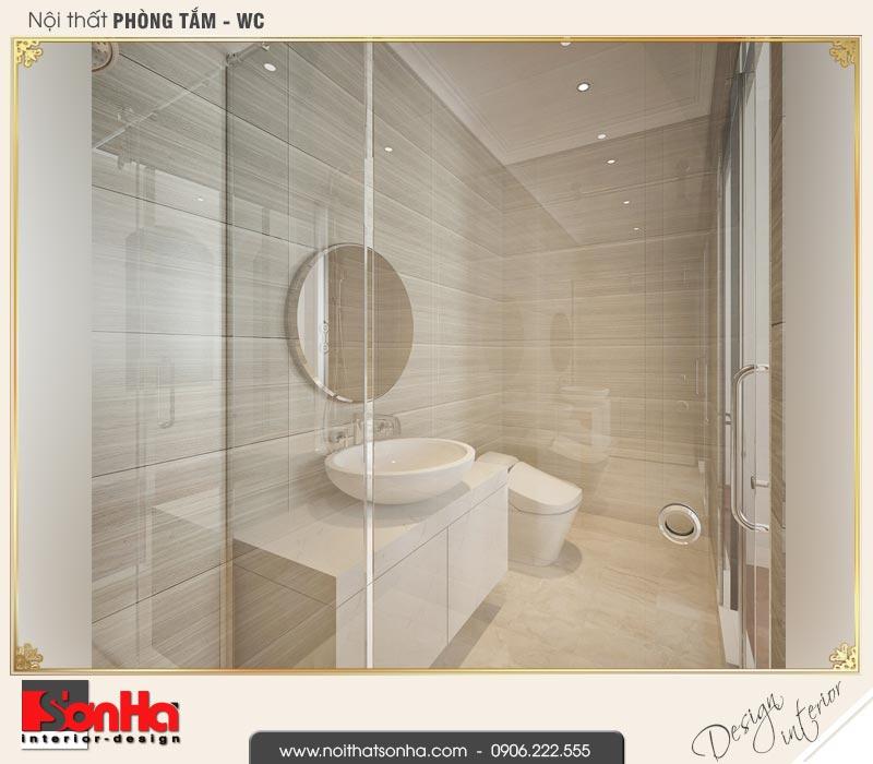 16 Mẫu nội thất phòng tắm wc biệt thự liền kề 5 tầng khu đô thị waterfront hải phòng wfc 001