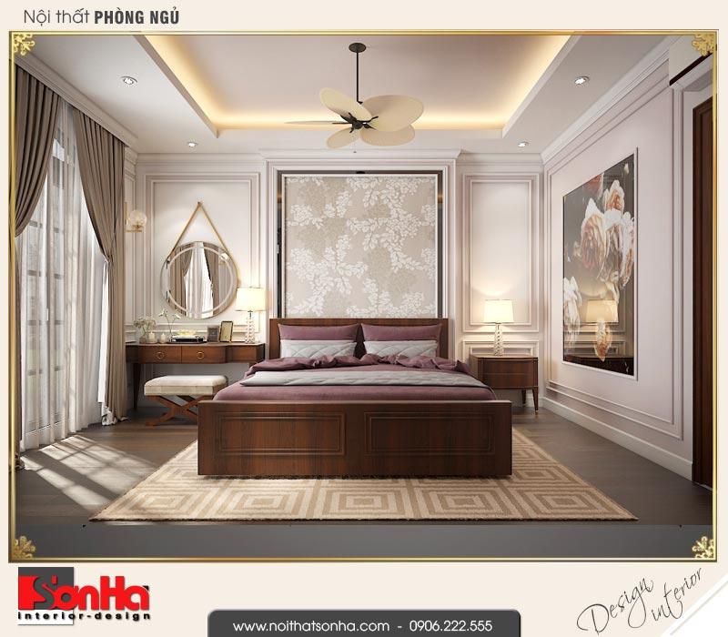 5 Thiết kế nội thất phòng ngủ vip biệt thự tân cổ điển khu đô thị vinhomes hải phòng