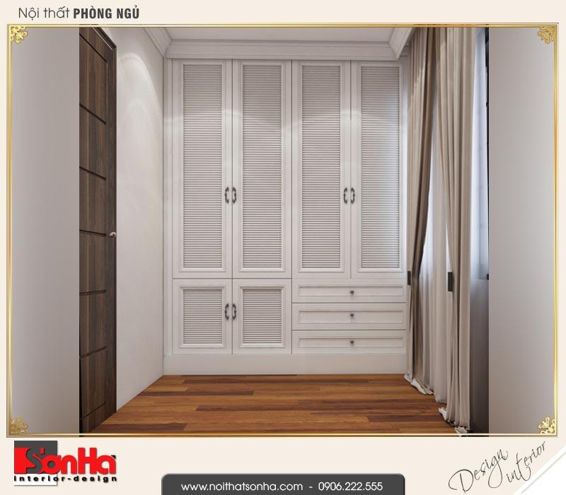 6 Mẫu nội thất khu thay đồ phòng ngủ 1 biệt thự tân cổ điển khu đô thị vinhomes hải phòng vhi 0001