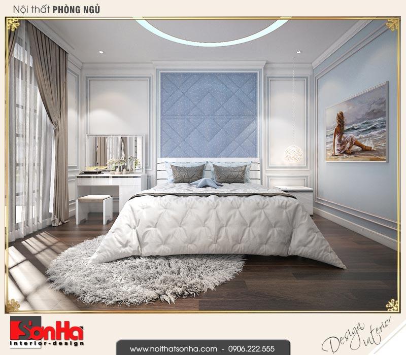 7 Thiết kế nội thất phòng ngủ con gái biệt thự tân cổ điển khu đô thị vinhomes hải phòng