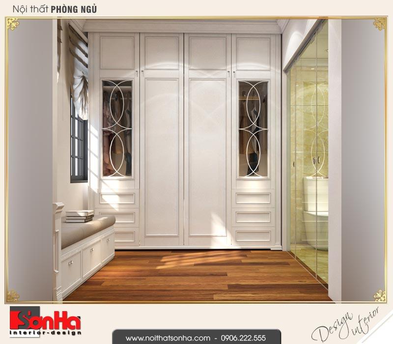 8 Mẫu nội thất khu thay đồ phòng ngủ 2 biệt thự tân cổ điển khu đô thị vinhomes hải phòng vhi 0001