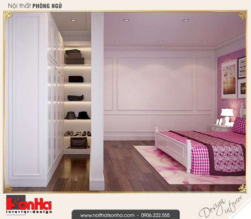 8 Mẫu thiết kế nội thất khu thay đồ phòng ngủ 2 biệt thự liền kề khu đô thị waterfront hải phòng wfc 001