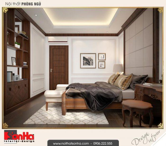 9 Thiết kế nội thất phòng ngủ ông bà biệt thự tân cổ điển khu đô thị vinhomes hải phòng