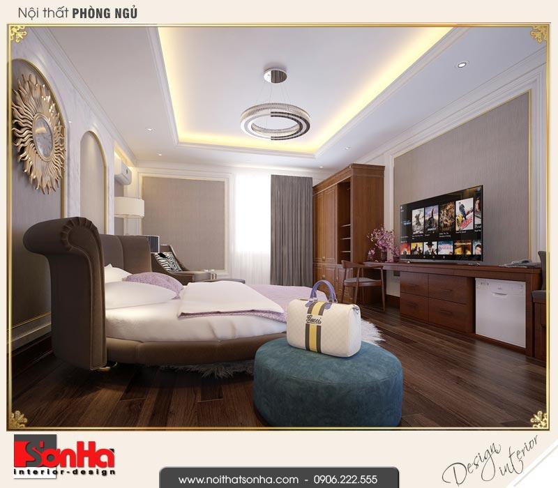 14 Mẫu nội thất phòng ngủ vip khách sạn 3 sao tại vũng tàu sh ks 0051