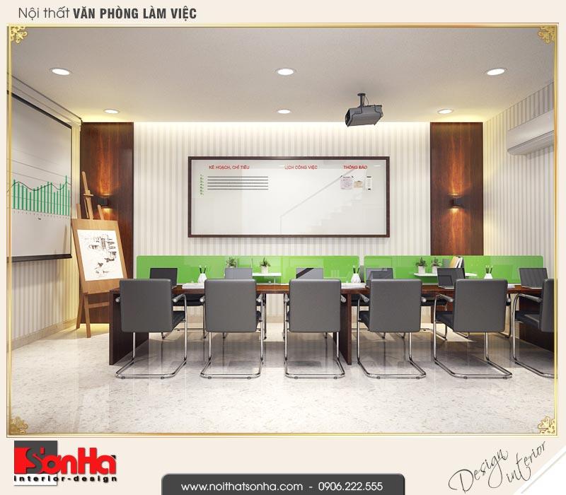 3 Thiết kế nội thất không gian làm việc tầng 2 nhà phố liền kề khu đô thị waterfront hải phòng wfc 0002