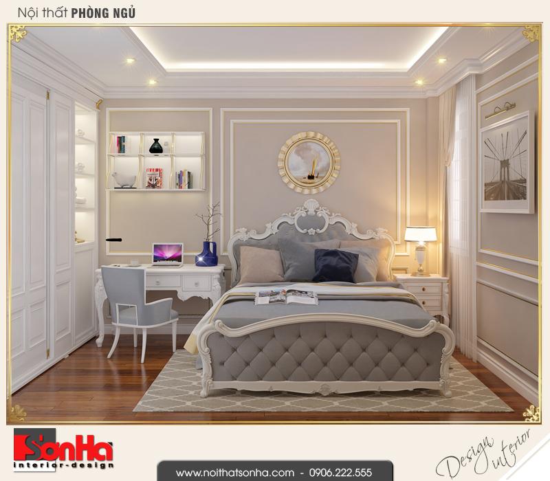5 Thiết kế nội thất phòng ngủ 2 nhà ống kiến trúc pháp tại sài gòn sh nop 0165