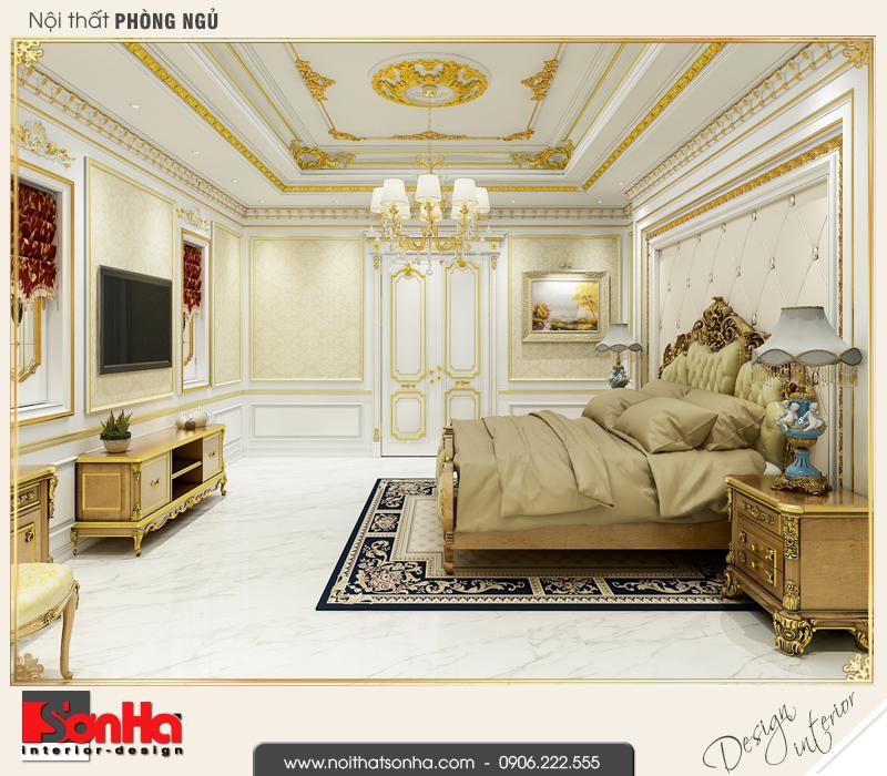 6 Mẫu nội thất phòng ngủ 2 nhà ống cổ điển kết hợp kinh doanh tại vĩnh phúc sh nop 0163