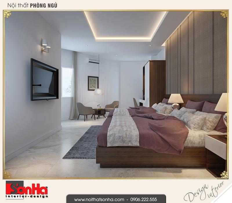 6 Mẫu nội thất phòng ngủ đôi khách sạn 3 sao tại vũng tàu sh ks 0051