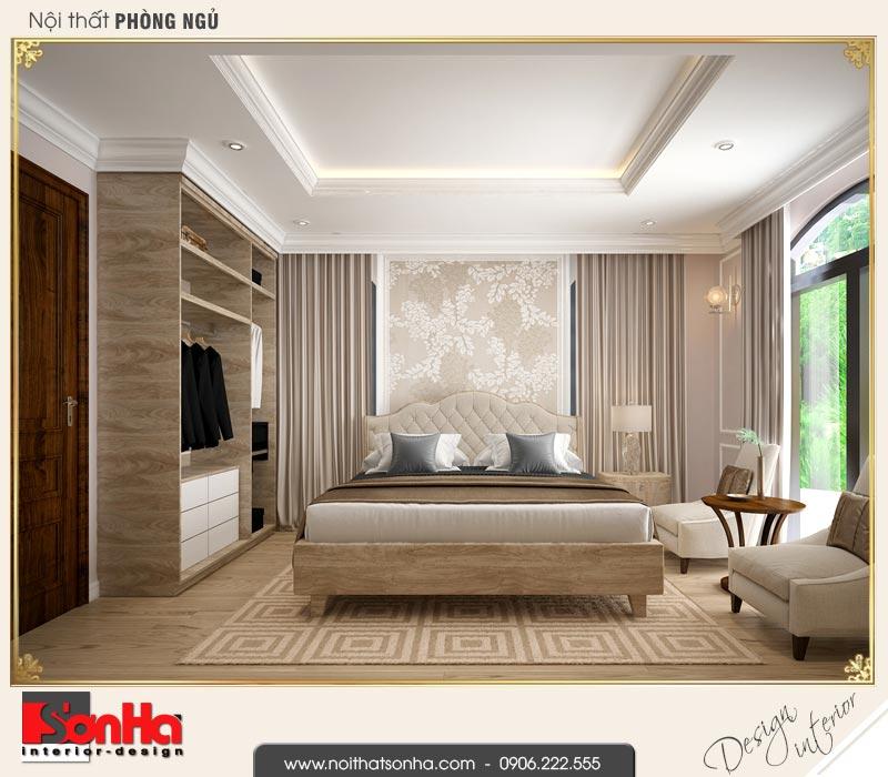 8 Mẫu thiết kế nội thất phòng ngủ 2 biệt thự tân cổ điển khu đô thị vinhomes hải phòng vhi 0002
