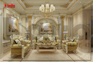 BÌA thiết kế nội thất nhà ống cổ điển kết hợp kinh doanh tại vĩnh phúc sh nop 0163