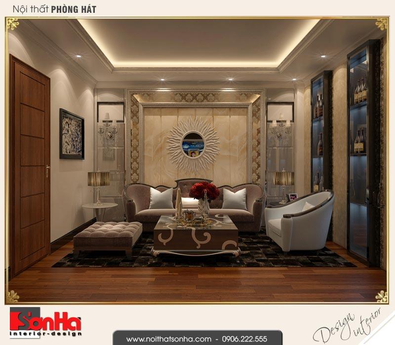 10 Mẫu nội thất phòng hát nhà ống cổ điển đẹp tại hải phòng sh nop 0159