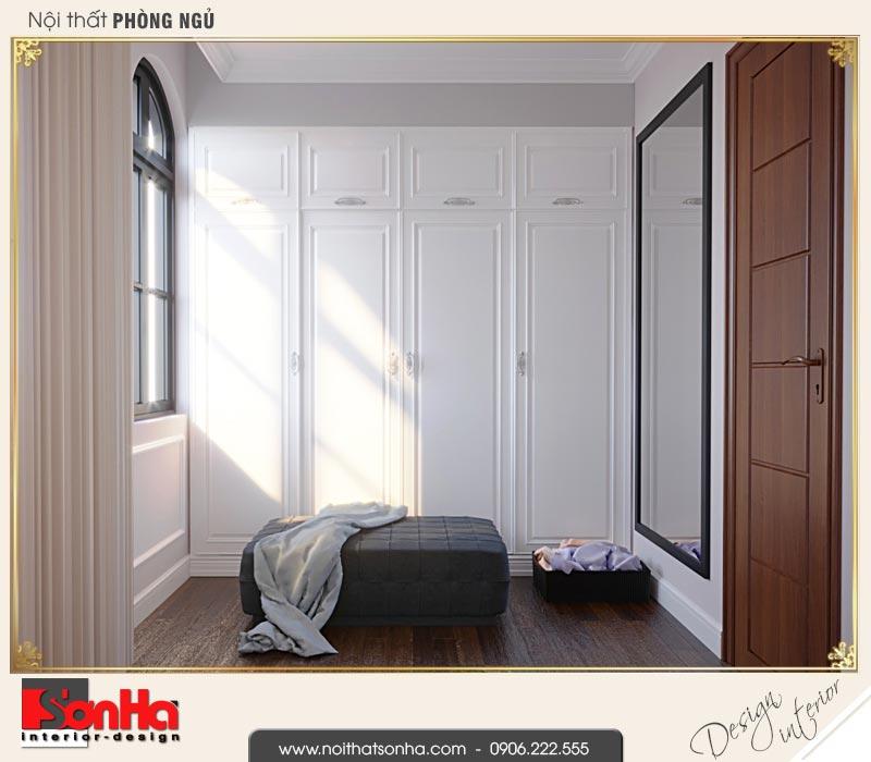 12 Thiết kế nội thất khu thay đồ phòng ngủ 4 biệt thự tân cổ điển khu đô thị vinhomes hải phòng vhi 0003