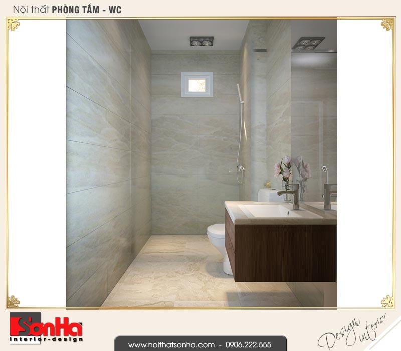 14 Mẫu nội thất phòng tắm wc nhà ống hiện đại 4 tầng tại hải phòng sh nod 0187