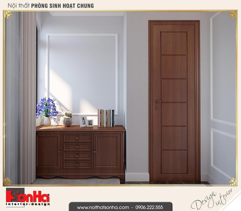 14 Thiết kế nội thất phòng sinh hoạt chung biệt thự tân cổ điển khu đô thị vinhomes hải phòng vhi 0003