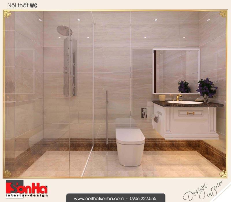 17 Mẫu nội thất phòng tắm wc biệt thự tân cổ điển khu đô thị vinhomes hải phòng vhi 0003