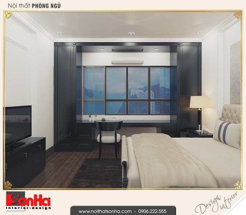 5 Mẫu nội thất phòng ngủ nhỏ nhà ống cổ điển pháp tại hà nội sh nop 0169
