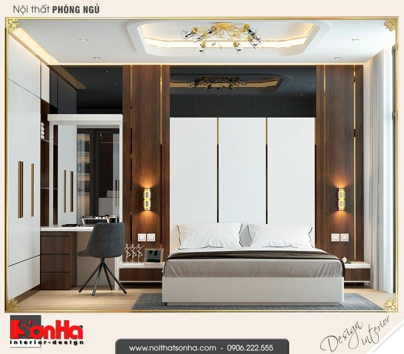 6 Mẫu nội thất phòng ngủ vip nhà phố liền kề khu đô thị waterfront hải phòng sh wfc 0003