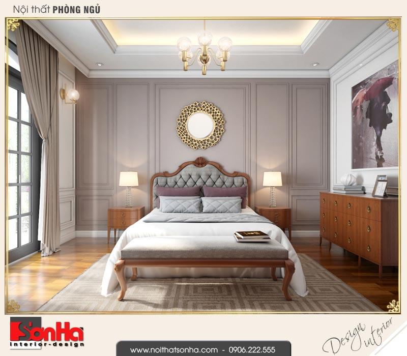 7 Mẫu nội thất phòng ngủ 1 biệt thự tân cổ điển khu đô thị vinhomes vhi 0003