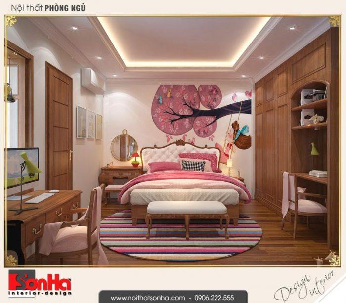7 Thiết kế nội thất phòng ngủ 2 nhà ống kiến trúc pháp tại hải phòng sh nop 0159