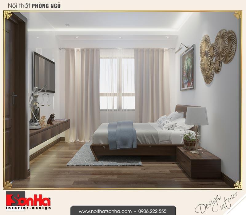 8 Mẫu nội thất phòng ngủ 3 nhà phố liền kề khu đô thị waterfront sh wfc 0003